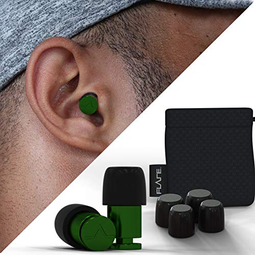 Flare Audio - Isolate Green Ear Protection Earplugs