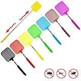 REYOK Telescopic Fly Swatters,7 Pack Extendable Fly Swatter,Manual Adjustable SWAT Pest Control Durable Extendable Handle House Wife Helper, Assorted 7 Colors Product ID: 8431275930563