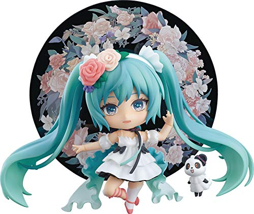 Good Smile Character Vocal Series 01: Hatsune Miku (Miku with You 2019 Version) Nendoroid Action Figure, Multicolor