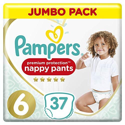 Pampers Premium Protection Windelhose Gr.6 37 Windelhose 15+ kg