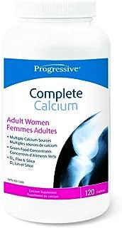 PROGRESSIVE Calcium Adult Wmn Complete, 120 CT