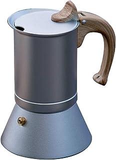 Cafeteras de expreso con estufa de vapor Cafetera nórdica Moka Pot comestible de aluminio del hogar máquina de espresso Mo...