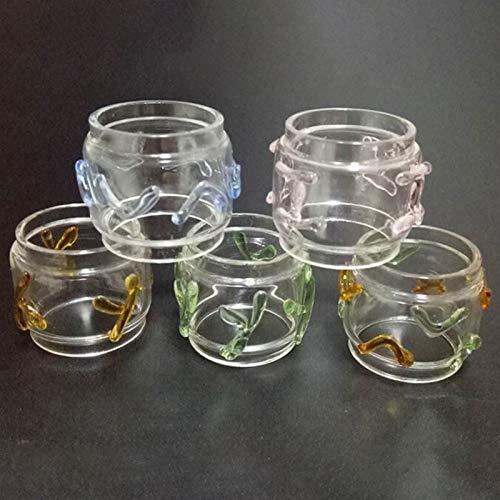 Denghui-ec, 1 unids 8 ml de reemplazo de Grasa Puro Tubo de Vidrio for TFV 12 Pricne atomizador Colorido artesanía Forma Tubo de Vidrio, Sin Tabaco ni nicotina (Color : 1pc Random Color)