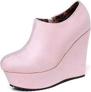 BalaMasa Womens ABS13870 Pu Boots