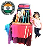 CELEBRATIONS Powder Coated Steel Cloth Drying Stand - Double Wings Cloth Dryer St
