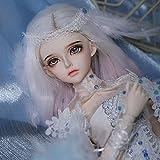 1/4 Elegante Princesa Muñecas SD Juego Completo 41cm Bonita Niña Muñeca BJD, Hecho a Mano Ball Jointed Doll Resina Juguete Moda Cosplay Muñecas por Chicas