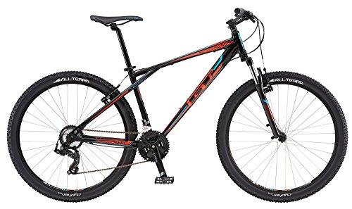 GT Aggressor Sport - Bicicleta de montaña (27,5 pulgadas), modelo 2016, color negro y naranja, tamaño 43 cm, tamaño de cuadro 54.00 centimeters, tamaño de rueda 27.00 inches