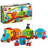 LEGO 10847 DUPLO My First Number Train Toy, AwardWinning Building Set with Large Number Bricks, Preschool Education Toy for Toddlers 1.5 Years Old