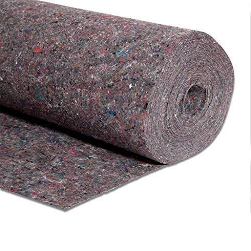 (6x) Rollos de Fieltro Protector Suelos | 1x4 m/ud | 180 grms | 24 m2 Totales
