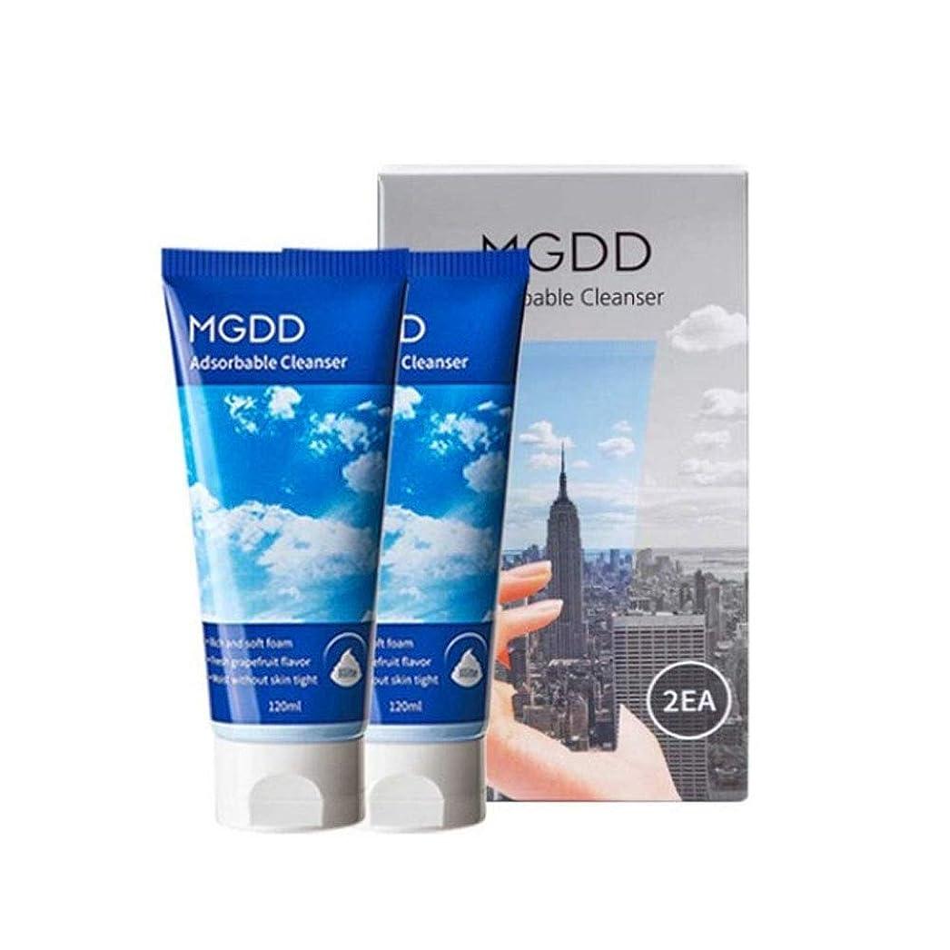 コードポジションが欲しいMGDD吸着クレンザー120mlx2本セット毛穴洗浄韓国コスメ、MGDD Adsorbable Cleanser 120ml x 2ea Set Pore Care Korean Cosmetics [並行輸入品]