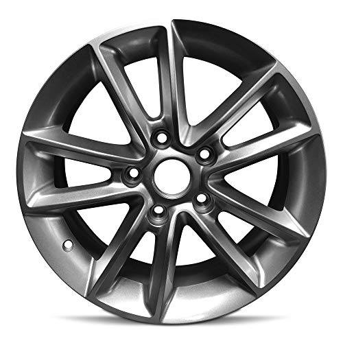 "Road Ready Car Wheel for 2013-2020 Dodge Caravan Aluminum 17 Inch 5 Lug Full Size Spare 17"" Alloy Rim Fits R17 Tire"