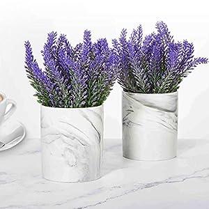 LUEUR Artificial Potted Lavender