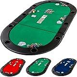 Table de Poker Pliante à Poser Deluxe avec Sac de Transport, 208 x 106 x 3 cm,...