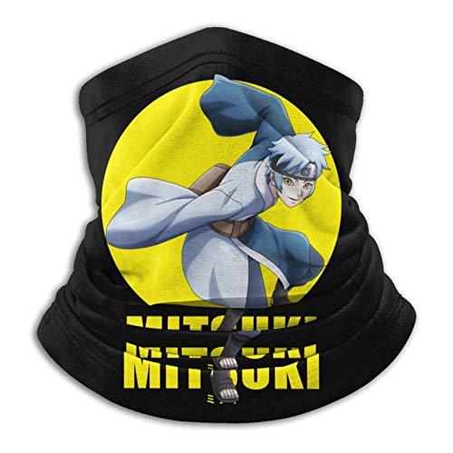 AmyNovelty Neck Warmer,Mitsuki N-A-Ruto Sweatband, Bonitos Pañuelos para Gimnasio Deportivo,26x30cm