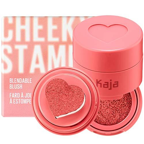 KAJA Cheeky Stamp | Blendable Blush | 03 Bossy - soft coral | Cruelty-free, Vegan, Paraben-free, Sulfate-free, Phthalates-free, K-Beauty