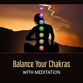 Balance Your Charkas with Meditation – Tibetan Zen Music, Mindfulness, Hypnosis Session, Healing and Deep Meditation, Oriental Mantra