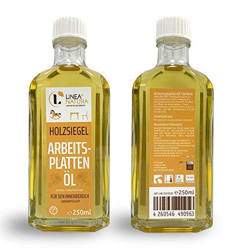 LINEA NATURA® Areitsplattenöl | Möbelöl | Treppenöl | Holzöl natürlich matt (250ml)