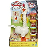 Play-Doh Animal Crew Cluck-a-Dee Feather Fun Chicken Toy