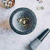 Lacor 60516 – Mortero con mano de granito, 16 x 12 cm, gris - 7