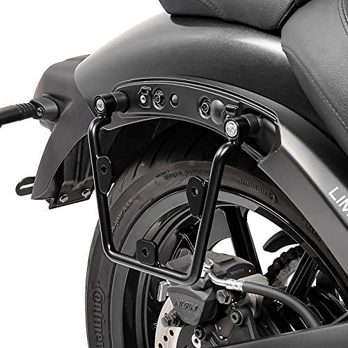 Soporte de alforjas Compatible para Kawasaki Vulcan S/Café 15-20 Derecho de Maletas Laterales