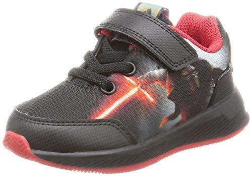 adidas Star Wars El I, Sneakers Basses Mixte Enfant, Noir (Negbas/Granat/Dormet), 23.5 EU
