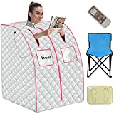 Itaar Portable Far Infrared Sauna, Personal Saunas for Home Spa with...