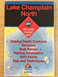 Lake Champlain North Detailed Fishing Map (S456) New York Series