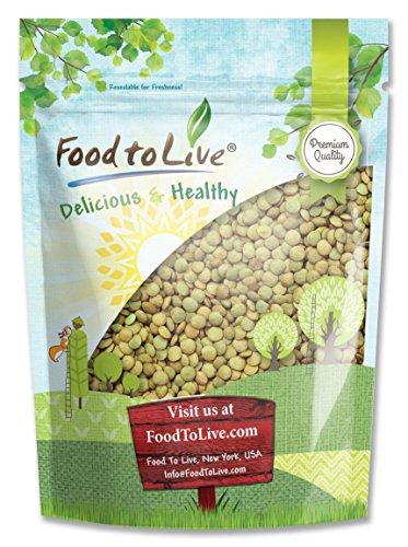 Green Lentil Whole, 2.5 Pounds —Kosher, Bulk
