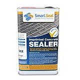 Smartseal Imprinted Concrete Sealer - Silk/Wet Look Finish - High Quality, Durable Concrete