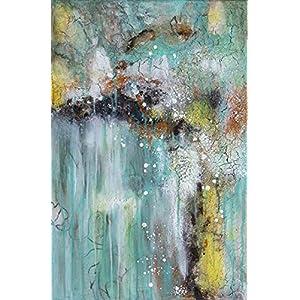 Wasserfall original Acryl Gemälde 60×40 cm