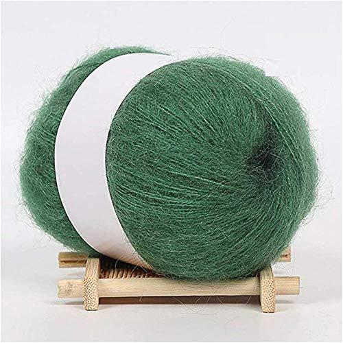 CHENXQ lange wol kasjmier garen textuurdikke trui breien DIY Mink kasjmier sjaal goede garen wol haak