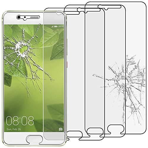 ebestStar - kompatibel mit Huawei P10 Panzerglas x3 Schutzfolie Glas, Schutzglas Displayschutz, Displayschutzfolie 9H gehärtes Glas [P10: 145.3 x 69.3 x 7mm, 5.1'']