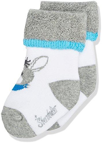 Sterntaler Baby-Socken Erik, Alter: 4-6 Monate, Größe: 16, Grau