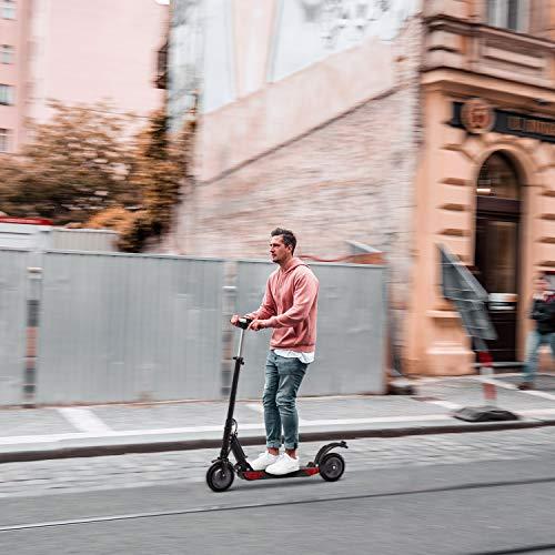 urbetter S1 PRO Monopattino Elettrico Scooter Pieghevole per Adulto velocità Massima 30kmh 350W Pneumatico a Prova di Esplosione da 8 Pollici (a Nero)