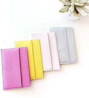 Porta Carte di Credito Sotille per Donna Fatto a Mano, Porta Tessere Donna, Altri colori Disponibili