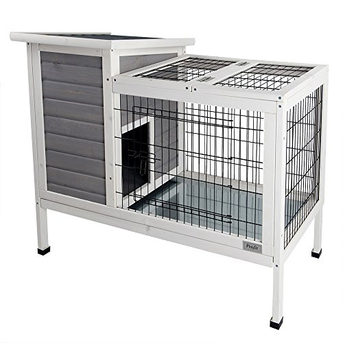 petsfit rabbit hutch guinea pig cage review