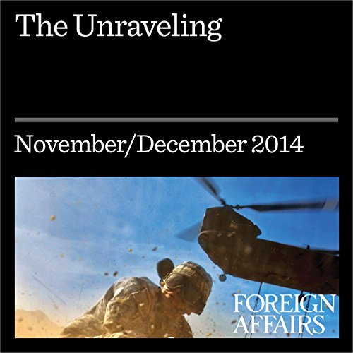 Couverture de The Unraveling