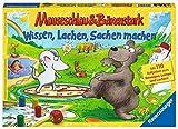 Ravensburger 21298 Lustige Mauseschlau & Bärenstark:Wissen, Lachen, Sachen Machen Kinderspiel