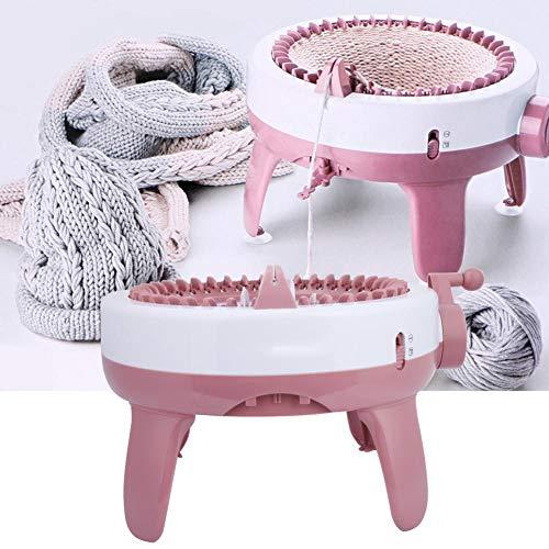 Handstrickmaschine, DIY Kunststoff handstricken nähmaschine Kinder weben Spielzeug Werkzeug zubehör (40 nadeln), Kinder strickmaschine
