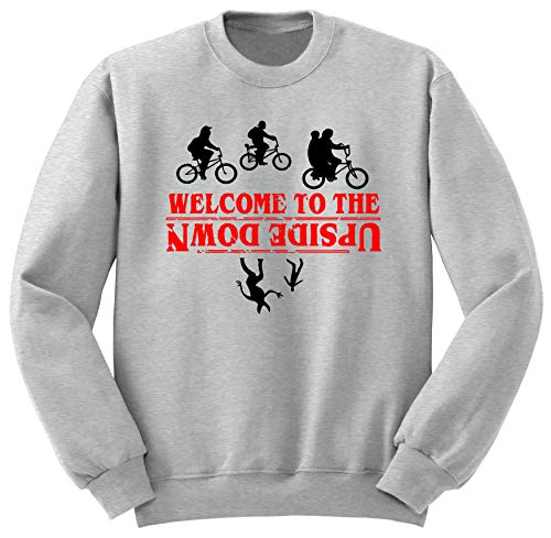 Welcome To The Upside Down Stranger Things Sudadera XL STR11