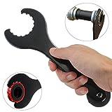 Schraubenschlüssel,CAMTOA Fahrrad Werkzeug Tretlager Montageschlüssel Innenlager Werkzeug Schlüssel Repair Tool