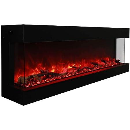 Amantii TRU-View-XL 3 Sided Electric Fireplace Deep (72)