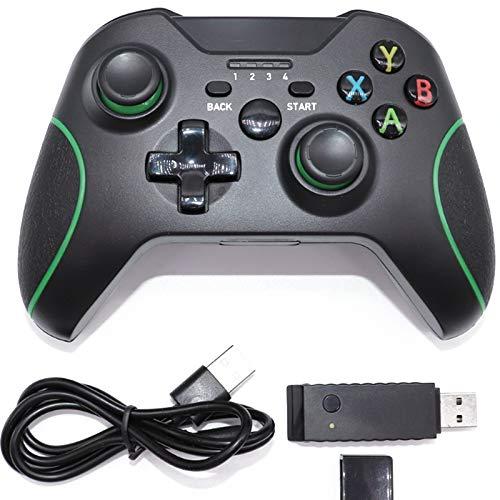 WXHHH Controlador inalámbrico para PS4, Remoto para Playstation 4 con Cable DE Carga, Joystick con Controlador DE Juego con Dual VIBRACIÓN/Sensor GYRO DE 6 Axes/FUNCIÓN DE Audio / 1000mAH,Negro
