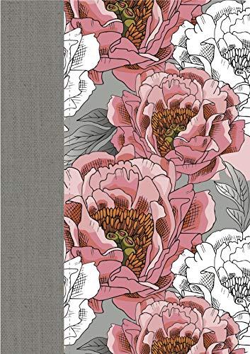 Santa Biblia: Biblia De La Mujer Conforme Al Corazón De Dios - Edición Peonía Lujo