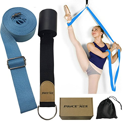 Banda elástica para piernas, entrenador de flexibilidad de puerta, Mejorar la flexibilidad de la pierna, equipo perfecto para baile de ballet ejercicios de taekwondo entrenamiento de gimnasia