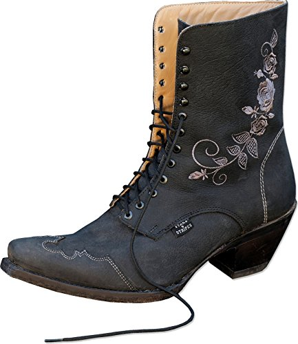 STARS & STRIPES Damen Western-Boots »ROSI« Schwarz (40)