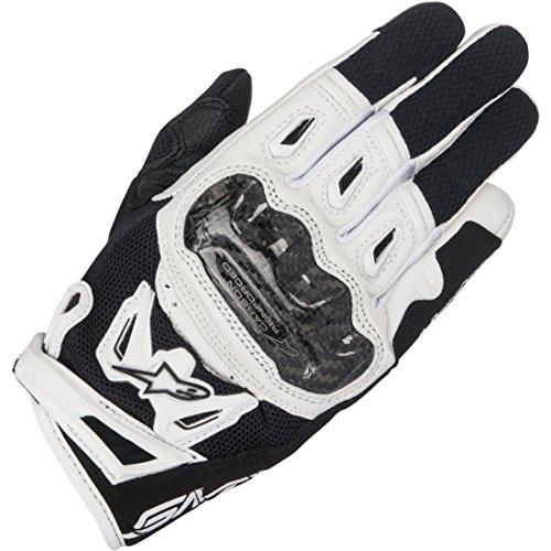 Alpinestars 1695160203 Motorrad Handschuhe, Schwarz/Weiss, M