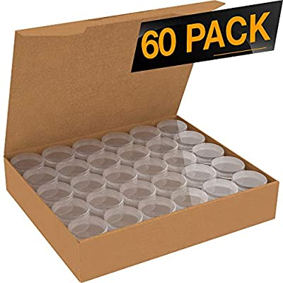 60 Pack Clear Empty