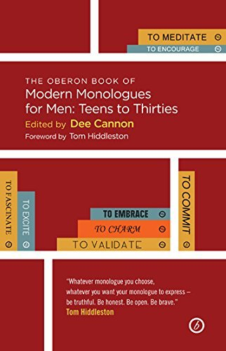 The Oberon Book of Modern Monologues for Men: Teens to Thirties (Actor