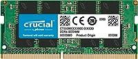 Crucial CT16G4SFRA32A 16GB Speicher (DDR4, 3200 MT/s, PC4-25600, SODIMM, 260-Pin)
